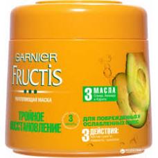 Маска для волос Fructis Tройное восстановление, 300 мл