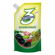 Майонез 3 желания Оливковый 67%. 190 гр