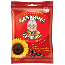 Семечки Бабкины классические жареные 100гр