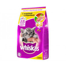 Корм Вискас для котят с молоком, индейкой и морковью 1,9кг