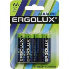 Батарейка Ergolux арт LR6  BL-4 1.5V