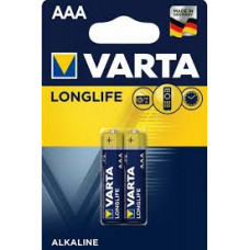 Батарейки Varta Long life ААА 2 шт