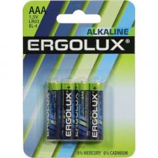 Батарейка Ergolux арт LR03 BL-4 1.5V