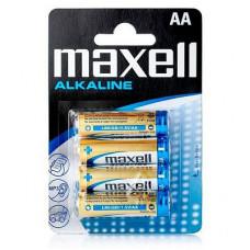 Батарейка Maxell LR6 4РК AА 4шт