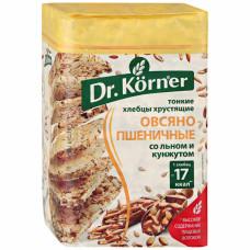 Хлебцы Dr. Korner овсяно-пшеничные со смесью семян, 100 г