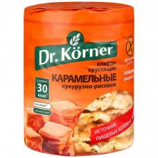 Хлебцы Dr. Korner кукурузно-рисовые Карамель, 100 г