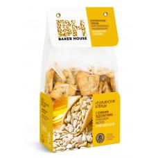 Хлебцы Baker Hause Итальянские Семена подсолнечника и морская соль 250 г