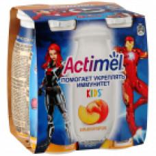 Йогурт питьевой Актимель Персик 2,5% 100 мл