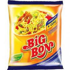 Лапша Big Bon говядина соус томатный с базиликом 75 гр м/у