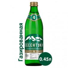Вода Есентуки 4 минеральная 0,45 л ст/б