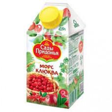 Морс Сады Придонья Клюква 0,5 л