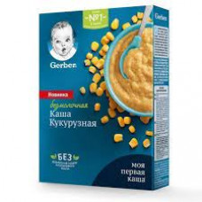 Каша Gerber Безмол кукурузная 180гр