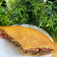 Пирог Стафф (помидор, сыр, мясо и грибы) RAVIOLI