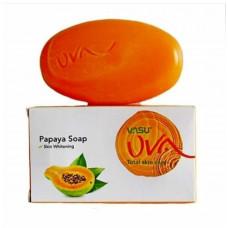 Мыло UVA с Папайей омолаживающее, 125 гр (Индия)