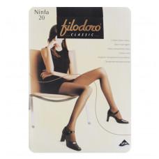 FILODORO NINFA 20 den NERO 2-S