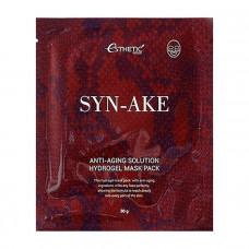 Гидрогелевая омолаживающая маска для лица со змеиным ядом SYN-AKE ANTI-AGING SOLUTION