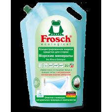 Frosch Жидкое средство для стирки белья Морские минералы 2000мл