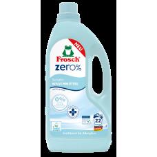 Frosch zero Жидкое средство для стирки белья Сенситив (гипоаллергенный) 1500мл