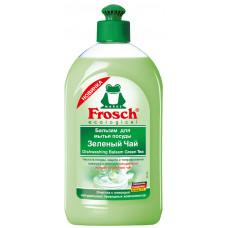 Frosch Бальзам для мытья посуды Зеленый чай 500мл