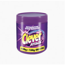 Clever Attack oxy & enzime stain remover кислородный пятновыводитель